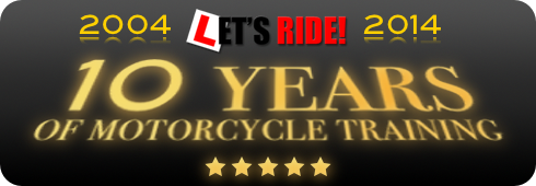 We are celebrating our 10th anniversary in bike training - 2004 to 2014